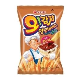 [원더배송] 오감자 양념바베큐 75g 12봉