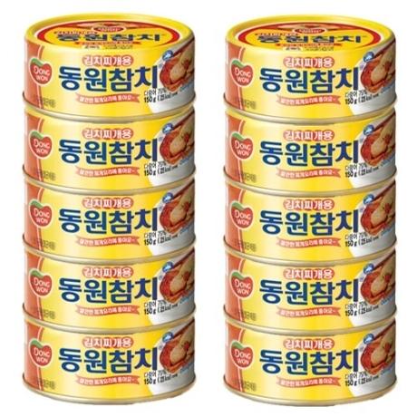 [동원] 동원 김치찌개 참치 150g 10개