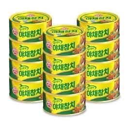 [원더배송] 야채 참치 150G x 25개