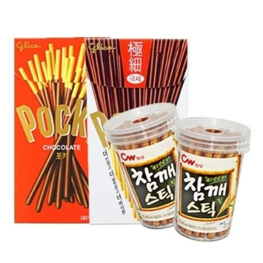 해태 포키초콜렛 빼빼로(42g) X 1개 / 포키극세/참깨스틱