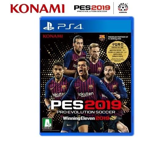 [소니] [PS4] PES 2019 위닝일레븐 2019 스탠다드 에디션