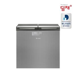 [위니아딤채] 20년형 딤채 뚜껑형 김치냉장고 실버 EDL22CFECSS (포토상품평이벤트-고급식기14p증정)