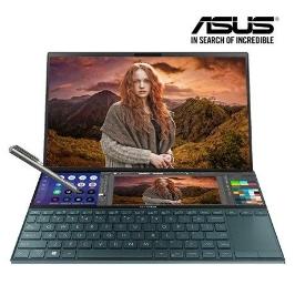 [예약판매]ASUS 젠북듀오 UX481FL-BM063T 인텔10세대 i7 스크린패드 온라인개학 강의 재택근무 최적화