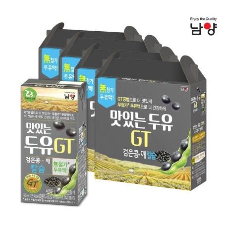 남양유업 맛있는두유 GT 검은콩 190ml 64팩(B_day)