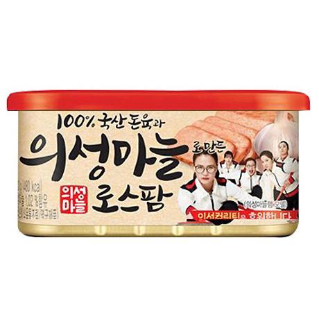 롯데푸드 의성마늘 로스팜 120g  8개-개당 1,238원/21년 8월1일까지