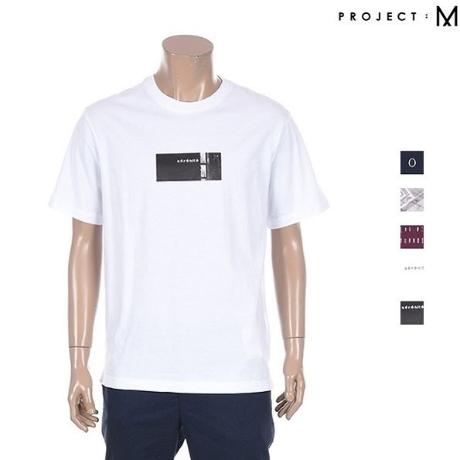 [프로젝트M] 남성 그래픽 티셔츠 EPZ2TR1802