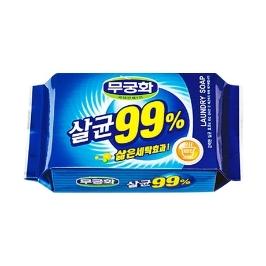 [싸고빠르다] 무궁화 살균99% 빨래비누 230g 1개