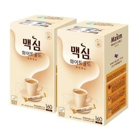 [원더배송] [푸드픽] 동서 맥심 커피믹스 320T 화이트골드