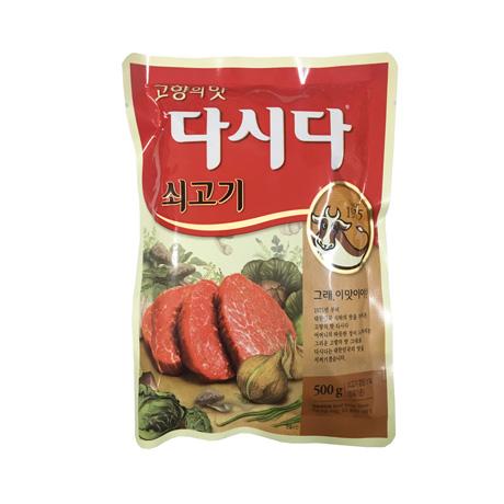 씨제이제일제당 고향의 맛 쇠고기 다시다 500g