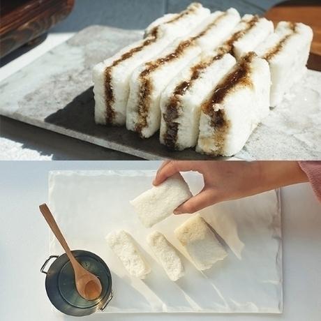 꿀백설기 14개+우유백설기 14개+단호박설기 1개