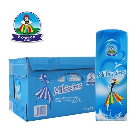 폴란드 프리미엄 밀키스마우유 1L 12개 무료배송