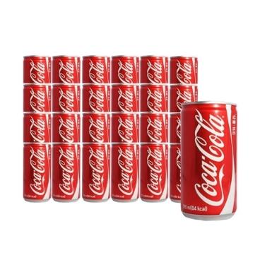 코카콜라 185ml 30캔 꼬마캔/음료/콜라