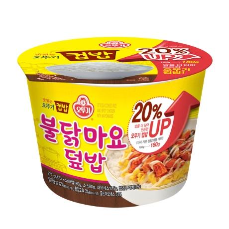 맛있는 오뚜기 컵밥 불닭마요덮밥 277G