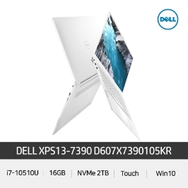 DELL XPS13-7390 D607X7390105KR 인텔 10세대 i7/IPS