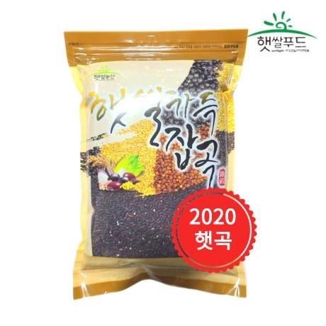 국산 발아찰흑미 500g