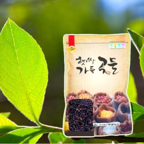 국산 싹을 틔운 발아찰흑미 500g