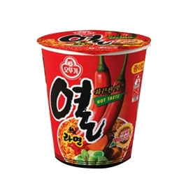 [싸고빠르다] 오뚜기 열라면 컵 62g