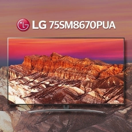[해외배송] 2019신상 LG 75SM8670PUA 나노셀 스마트 4K UHD TV / 관부가세포함