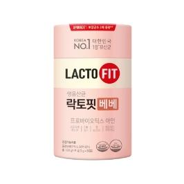 종근당건강 락토핏 생유산균 베베 1통(60포)
