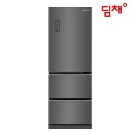 [딤채] 공식인증점 19년형 딤채 스탠드형 김치냉장고(실버) EDT33CFRMJT 330L