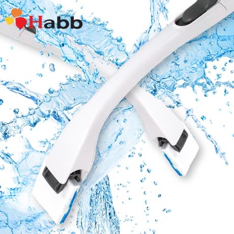 (행사)하비비 요술톡톡 변기클리너 스틱1개+리필브러쉬 6팩 (72회사용)