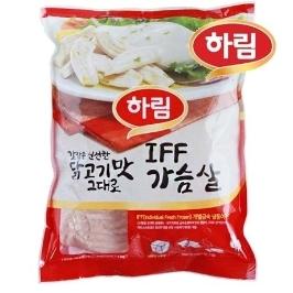 [더싸다특가] 하림 IFF 닭가슴살 5kg(1kg x 5봉)