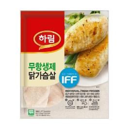 [하림] 하림 IFF 닭가슴살 10kg ( 1kg x 10봉 )