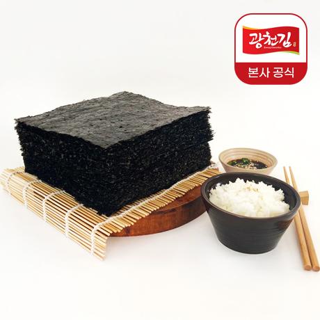 양념에 찍어 먹는 구운 파래김 100매 (150g)