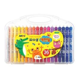 아모스 파스넷 색연필 36색 그림 색칠 미술놀이