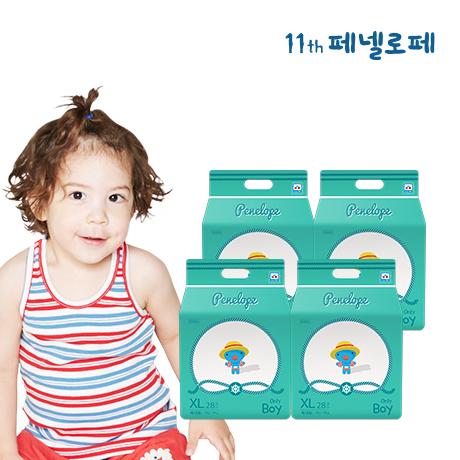 NEW 2020 씬씬씬 썸머 팬티기저귀 특대형 남아 28매x4팩