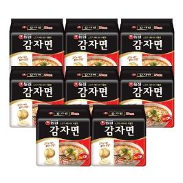 [원더배송] 농심 감자면 117g 40봉