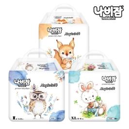 나비잠 매직소프트(팬티)4팩