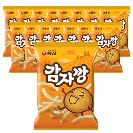 [원더배송] 농심 감자깡 75g 16봉