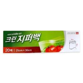 [싸고빠르다] 크린지퍼백(대) 20매(50x25x30)