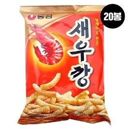 [원더배송] 농심 새우깡 90g 20봉