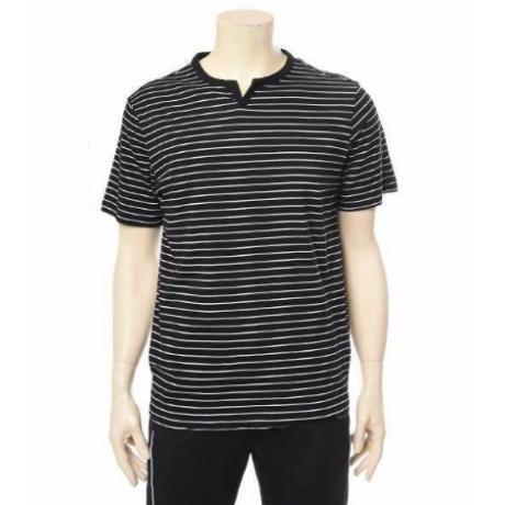 롯데백화점 클라이드 남여공용 헨리넥 반팔 티셔츠(CJBTS203U)