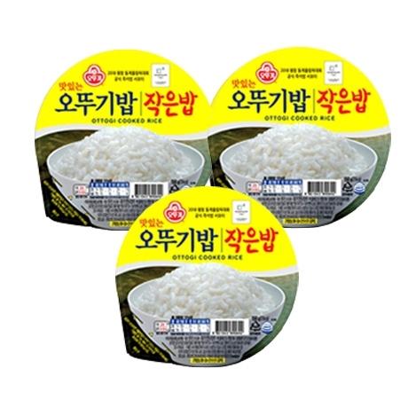 오뚜기 작은밥 150g 3개