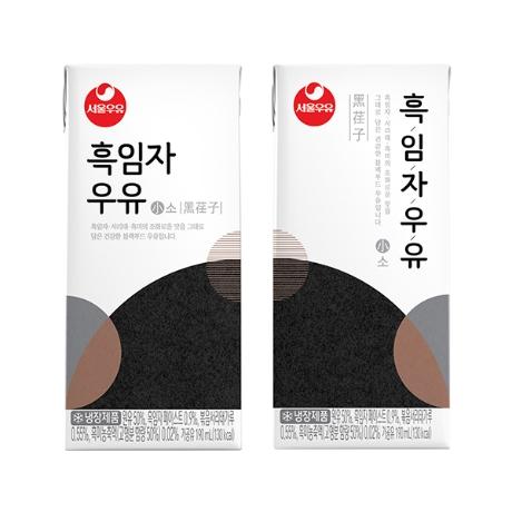 서울우유 흑임자우유(소) 190ml X 24팩 1박스