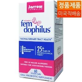 [해외배송]자로우 여성 펨 도필러스 10억 유산균 60베지캡