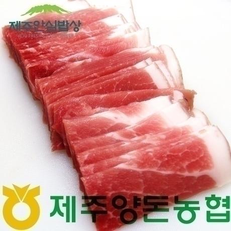 [제주안심밥상] 한정특가 제주양돈농협 제주도니 제주흑돼지 불고기용 300g 1+1+1 총900g