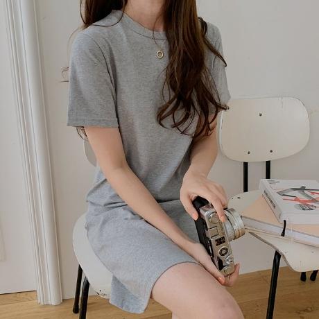 ★여름신상★ 미즈 썸머 데일리 미니원피스 (깔끔/심플/데일리)