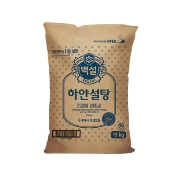 백설 하얀설탕 15kg/무료배송
