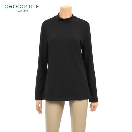 [크로커다일레이디] [크로커다일레이디] 무지 반 폴라 긴팔 티셔츠 (CL5WUW002)