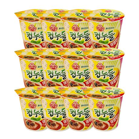 컵누들 매콤한맛(37.8gx6입)x2/(총12개입)