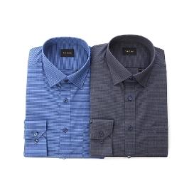 [예작] [대구백화점]긴팔 호리존탈 패턴 슬림셔츠(YJ8FBR935)