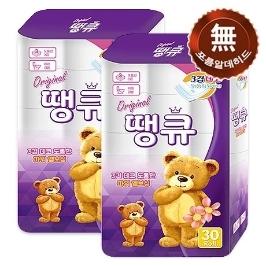 Original 땡큐 화장지2팩/무포름알데히드/당일출고/무료배송/가성비끝판왕