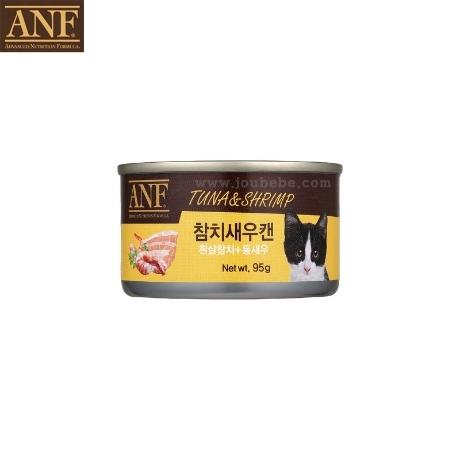 ANF 고양이 참치새우 캔 95g