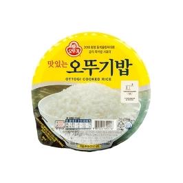 맛있는 오뚜기밥 210g 1개 (유통기한 20년 9월 이후)