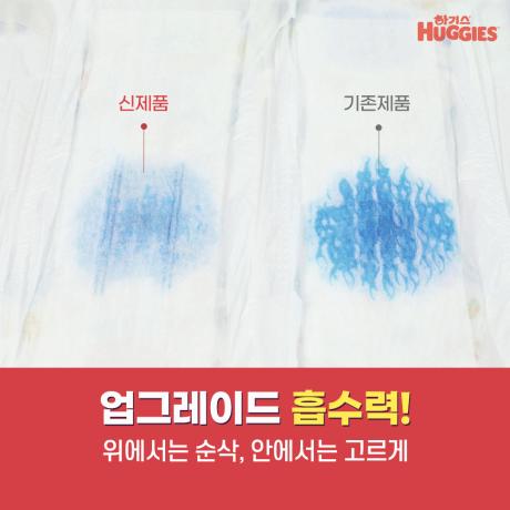 2020 하기스 매직 컴포트 팬티 기저귀 6단계 1박스+손소독물티슈18매