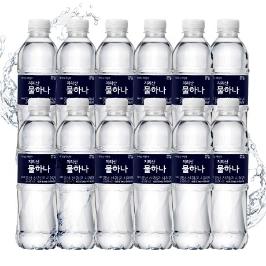 [무료배송] 지리산 생수 500ml X 40